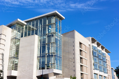 Fotografia, Obraz  Architectural details of convention center building in Washington DC