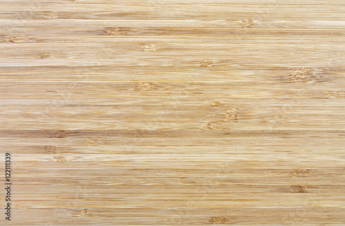 Foto op Canvas Bamboo wood texture, horizontal