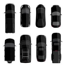 Black Car Set