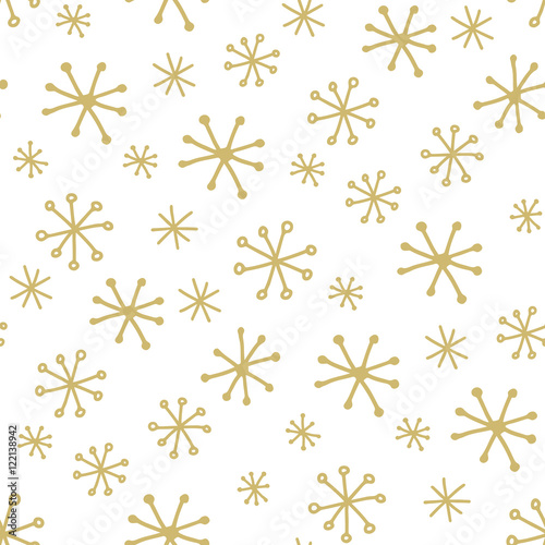 Stoffe zum Nähen Simple winter pattern