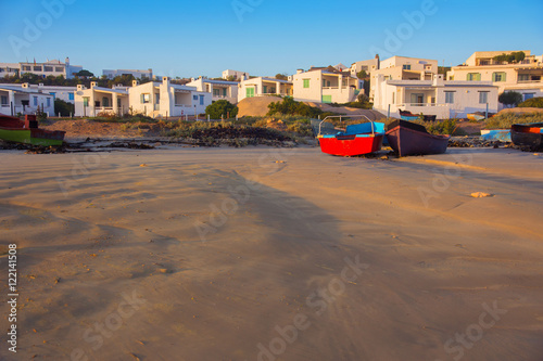 Foto op Plexiglas Zuid Afrika Landscape of the beach and village of Paternoster, South Africa