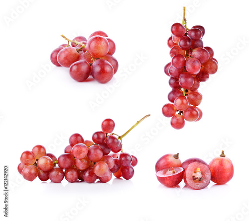 grapes isolated on over white background Fototapete