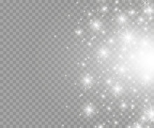 Vector Glowing Stars, Lights A...