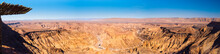 Fish River Canyon In Namibia Panorama View