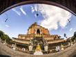 Wat Chedi Luang : temple Chiangmai Thailand.