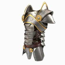 Armor 3d Illustration Isolated