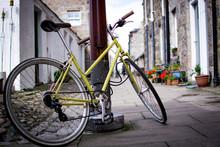 Vintage Bicycle In Aberdeen