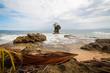 Rocky beach in Manzanillo Costa Rica
