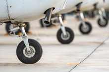 Wheels Of Airplane