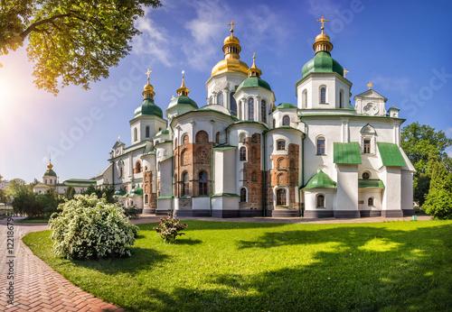 Foto op Plexiglas Kiev Собор Святой Софии в Киеве Saint Sophia Ca