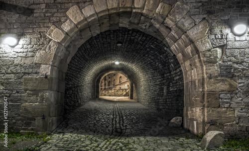 Tunnel bei Nacht