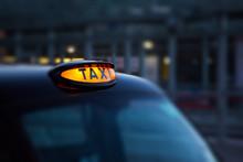 Dome Lamp Of Classic Black Cab...
