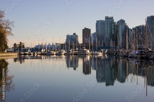 Spoed Foto op Canvas Canada Vancouver Skyline