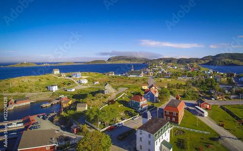 Fotografia Historical Trinity Newfoundland from air