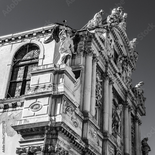 famous architectural buildings black and white. Contemporary Architectural VENICE ITALY  AUGUST 17 2016 Famous Architectural Monuments Facades Of  Old Medieval In Architectural Buildings Black And White I