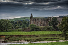 Bolton Abbey In Yorkshire, England UK