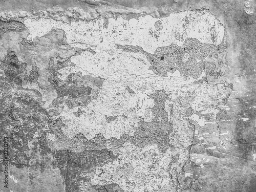Canvas Prints Old dirty textured wall Grunge gray background. wall with texture