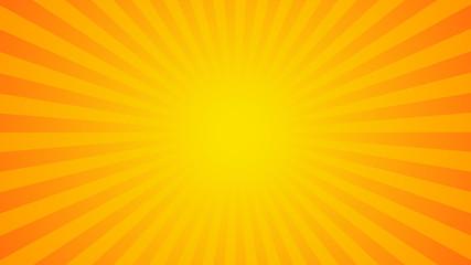 Bright rays background