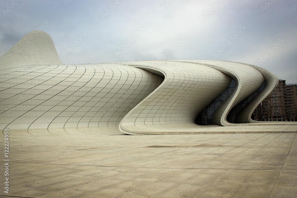 Fototapety, obrazy: Heydar Aliev cultural center, Baku, Azerbaijan