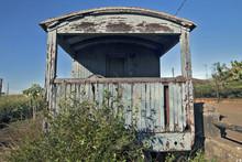 Old Train Wagon Deteriorating ...