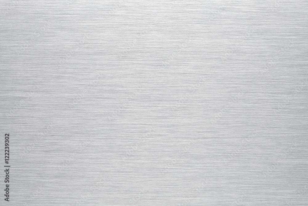 Fototapeta Brushed aluminum background or texture