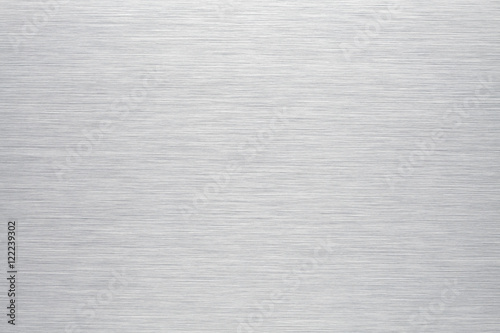 Deurstickers Metal Brushed aluminum background or texture