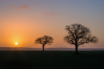 Sunrise in Yorkshire