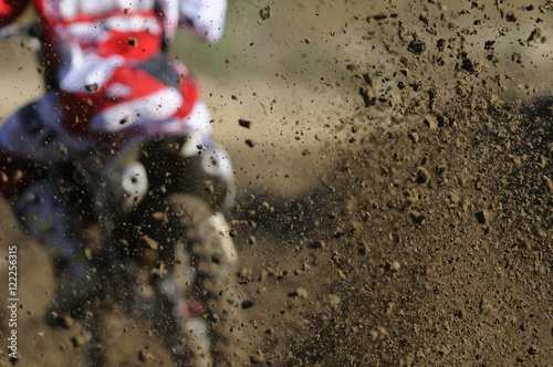 Photo  Motocross speed up
