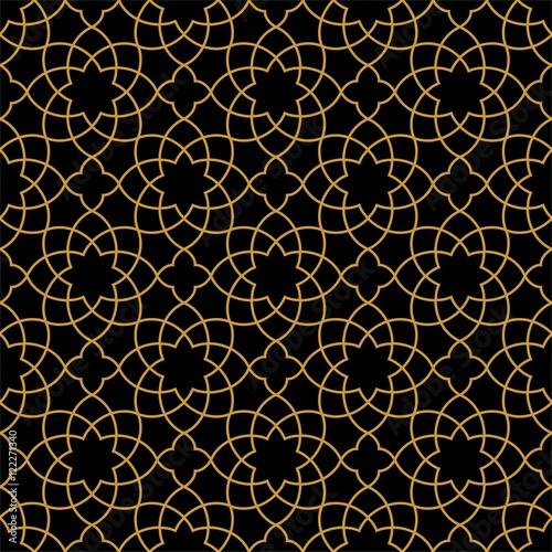 Photo  Gorgeous Seamless Arabic Pattern Design