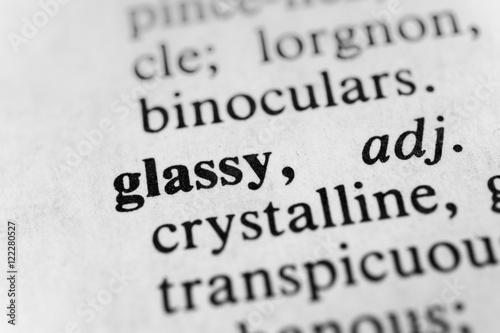 Fotografering  Glassy