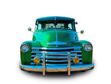 Classic Green Hot Rod