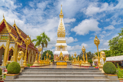 Fotobehang Temple Wat Phra That Panom temple in Nakhon Phanom, Thailand.