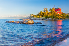 Marquette Harbor Lighthouse - Lake Superior, Michigan