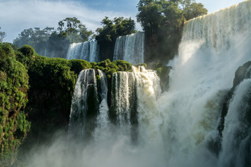 Fototapeta The powerfull of Iguazu falls, Argentina
