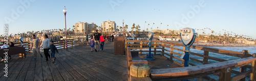 Oceanside Pier at Sunset Wallpaper Mural
