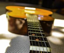 Acoustic Spanish Flamenco Guitar