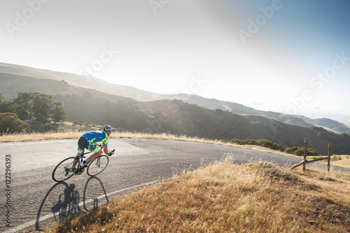 Road biking San Luis Obispo Canvas Print