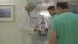 Medical staff in emergency room