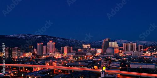 Fotografie, Obraz  Reno Skyline