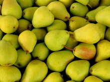 Fresh Yellow And Green Pears B...