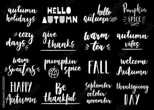 Hand Drawn Hello Autumn Autumn Vibes Fall In Love Autumn