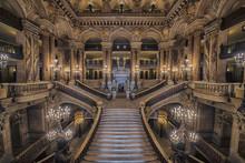 Stairway Inside The Opera Hous...