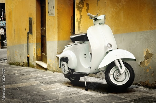 Italian old scooter