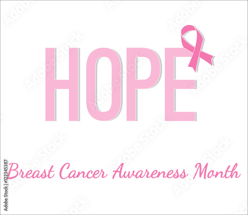 Breast Cancer Awareness Month Poster Buy This Stock Vector And