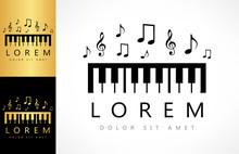 Piano Key Logo