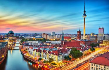 Fototapeta Berlin Berlin Skyline
