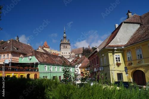 Fotografie, Obraz  Medieval city of Sighisoara, Transylvania, Romania