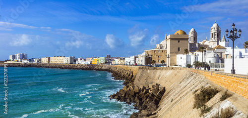Cadiz - beautiful city in south of Spain