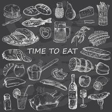 Bon Appetite. Food Set