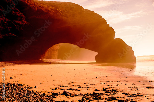 Recess Fitting Morocco Arch on Legzira beach